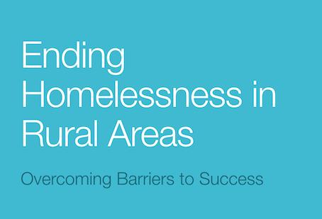 Ending Homelessness in Rural Areas