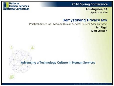 Demystifying Privacy Law