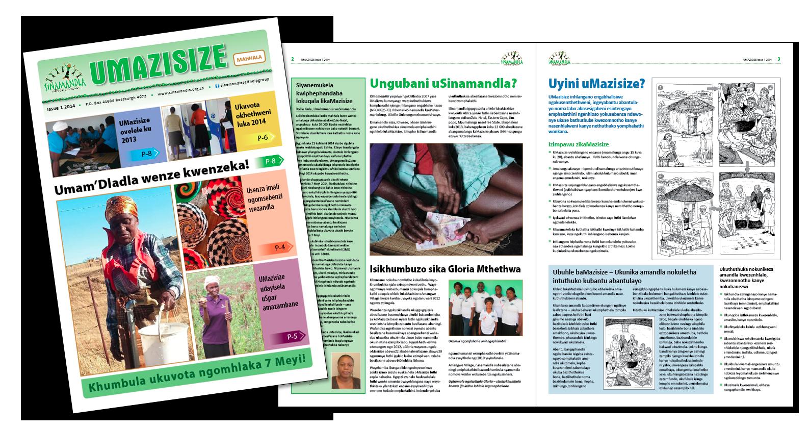 Sinamandla-Umazisize-Newsletter