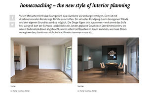 Homecoaching - The new Style of Interior Planning