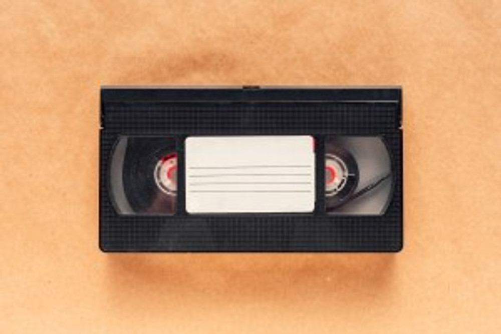 VHS tapes often contain family history and should be saved
