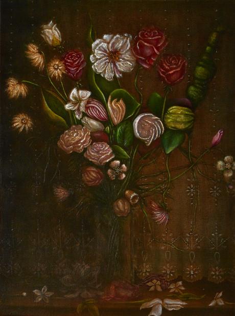 Dark Flowers-2_Sepia flowers Vase.psd.jp