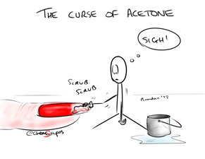 The Curse of Acetone