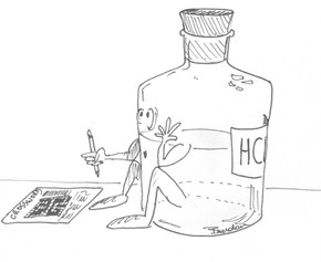Concentrating Hydrochloric Acid