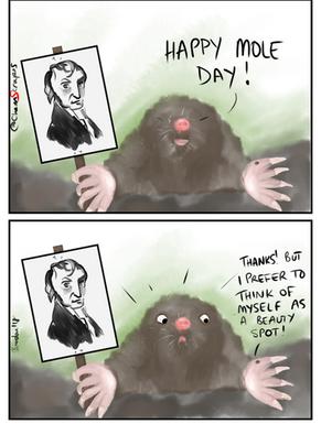 It's Mole Day!