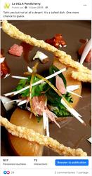 Facebook La Villa - Gastronomie