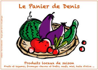 Panier de Denis. Flyer