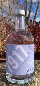 Tout fraichement mis en bouteille : le Gin 1917