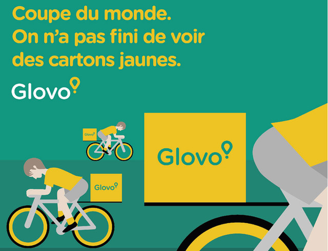 Glovo Coupe du Monde Posts Instagram