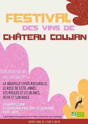 Affichette festival des vins