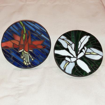 Coaster Wildflowers Iris and Columbine.j