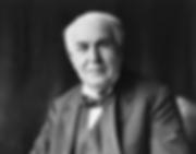 エジソンの顔写真