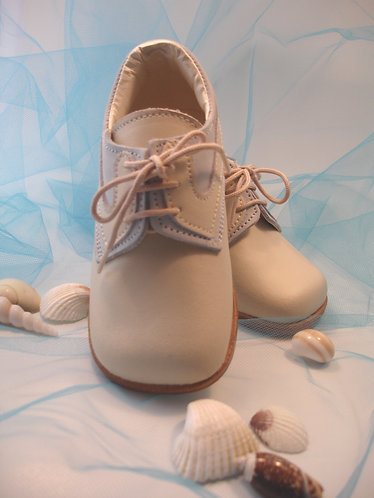 Imported Luxury Beige/Baby blue shoe