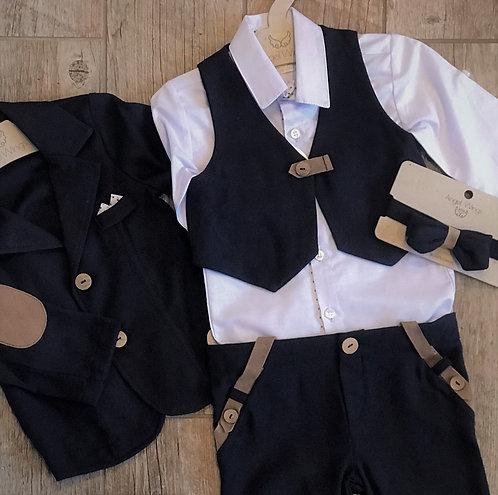 Classy Navy blue boys suit