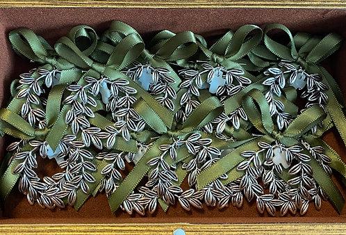 Olive wreath martyriko pin