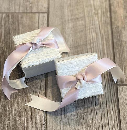 Satin box, wedding bombonieres