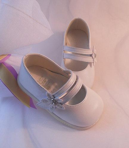 Imported Luxury White Pearl shoe/Maryjane