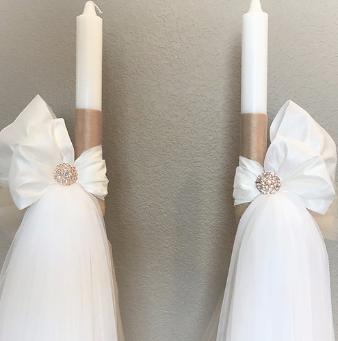 Silk & Tulle Wedding lambathes