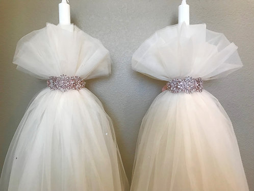 Tulle & Rhinestone Wedding lambathes