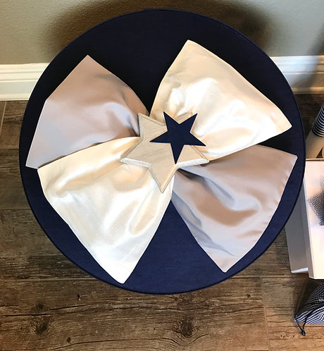 Round Fabric Baptism box