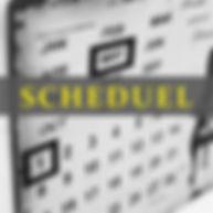 函館の美容室クランクスの定休日などのスケジュールページ
