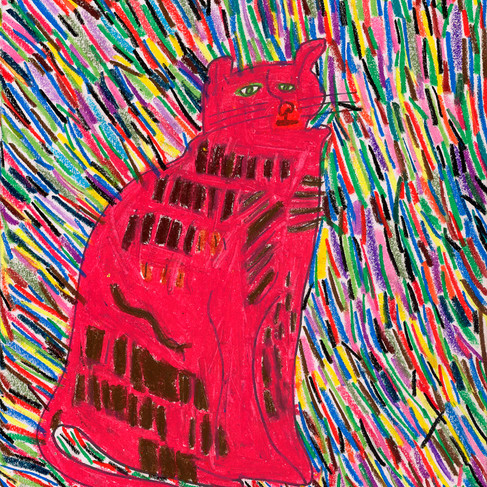 The Cat - SOLD Available in Print