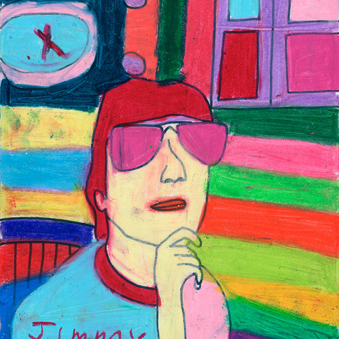 """Artist Jimmy"" - Original Available"