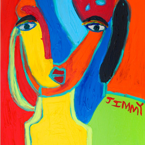 """""""Girl from France"""" - Original Available"""