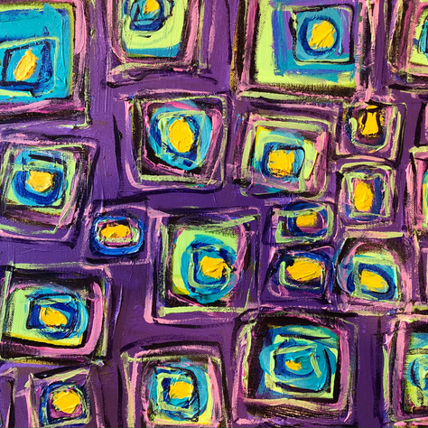 Untitled Abstract with Squares