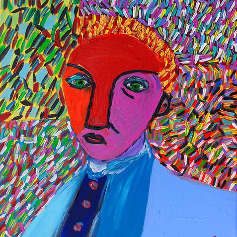 """Man with Sad Face"" -  Original Available"