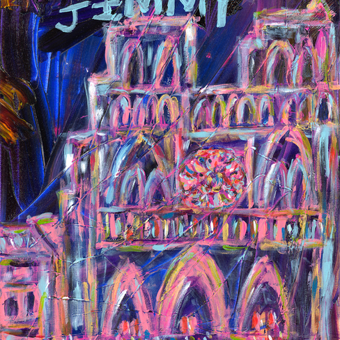 """""""Hunchback of Notre Dame"""" SOLD"""