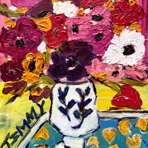 """""""Flowers in Italy"""" SOLD"""