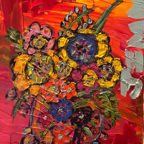 Flower Pot 2019 - SOLD
