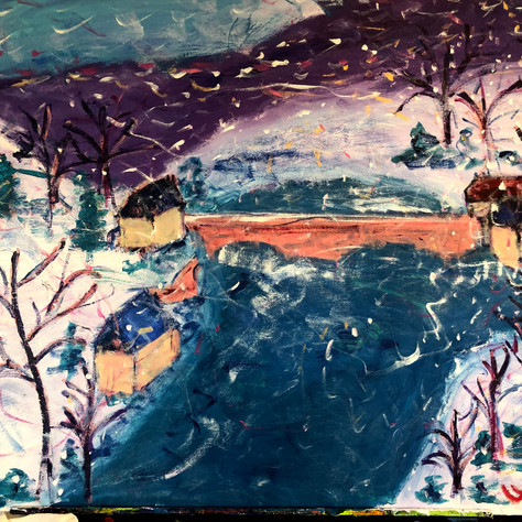 """""""Snow on the River"""""""