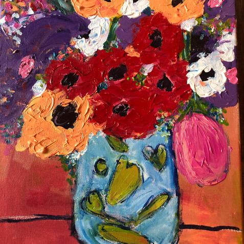 """""""Flowers in Tuscany"""" SOLD"""