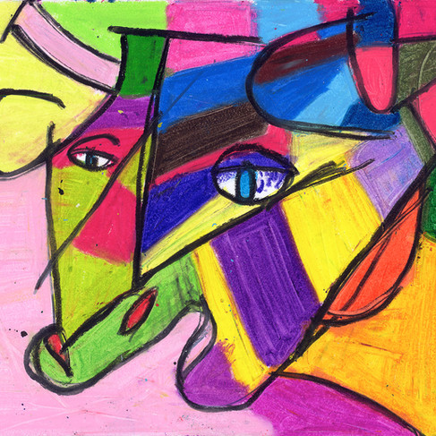 Pink Cow - SOLD Available in Print