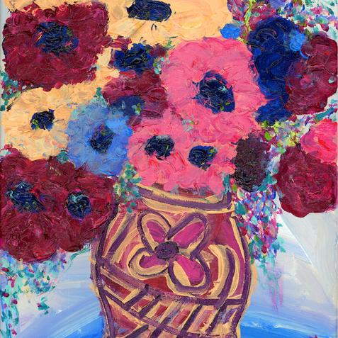 """""""Flowers in a Flower Pot"""""""