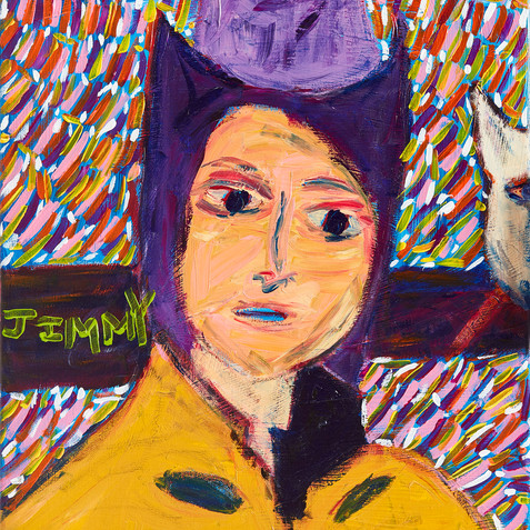 """""""Cowboy Jimmy"""" Painting Original Available"""