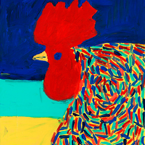 Red Rooster - SOLD Available in Print