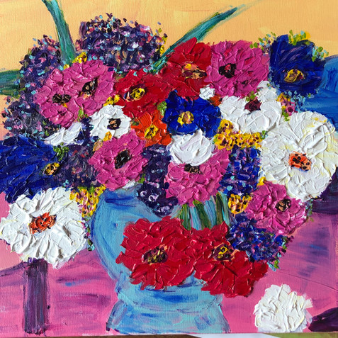 """""""Flowers from the Garden"""" SOLD"""