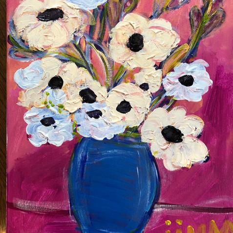 """""""Flowers in Blue Vase"""""""