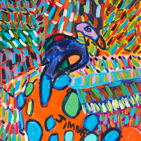 Mary Bird Painting  Original Available