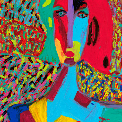 """Girl with Cork II"" - SOLD Available in Print"