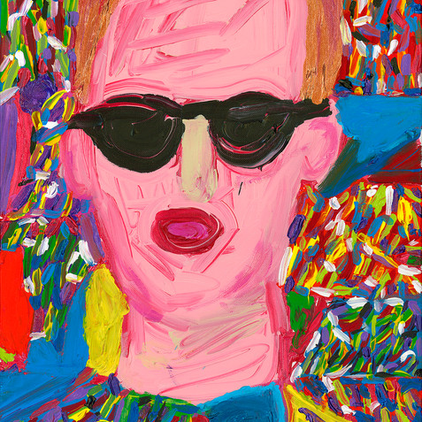 """""""Selfie"""" - SOLD Available in Print"""