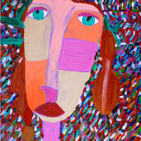 """Girl in the Forrest"" SOLD"