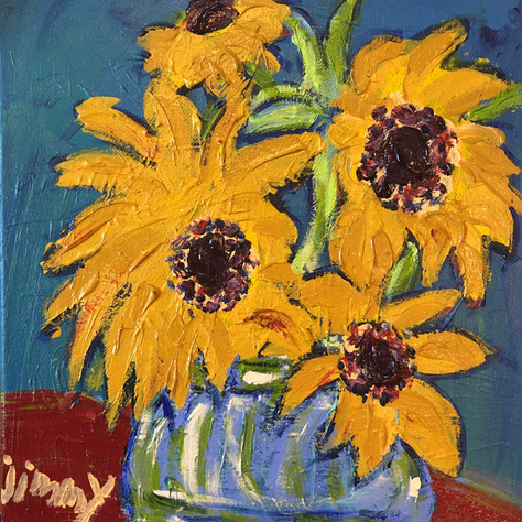 """""""Sunflowers"""" SOLD"""