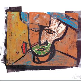 """""""Farmer in Italy"""" 3/3 Framed"""