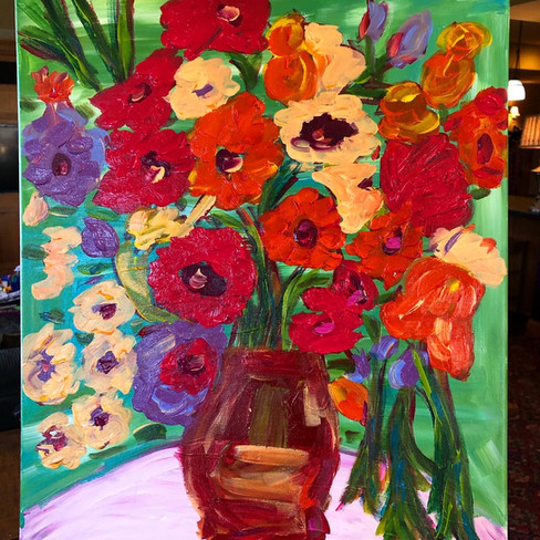 """""""Flowers in Russia"""" SOLD"""