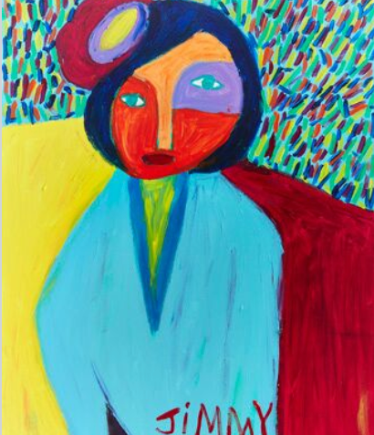 """""""Girl with Flower"""" - SOLD Available in Print"""