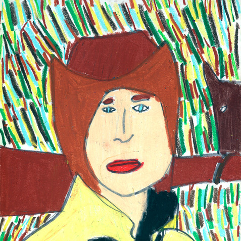 """Cowboy Jimmy"" - Original Available"